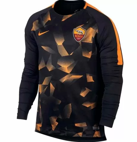 CAMISETA Nike AS Roma Manga larga ENTRENAMIENTO 17/18