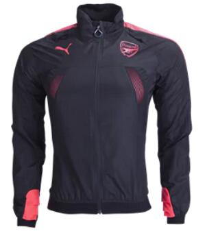 CAMISETA PUMA Arsenal European Stadium Jacket 17/18