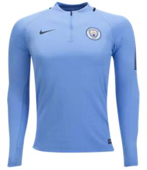 CAMISETA Nike Manchester City Manga larga Squad Top 17/18
