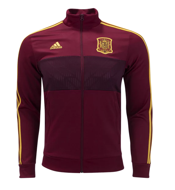 CAMISETA España 2018 3 Stripe Jacket by adidas