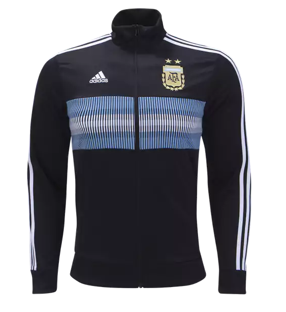 CAMISETA Argentina 2018 3 Stripe Track Jacket by adidas