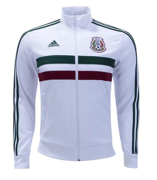 CAMISETA México 2018 3 Stripe Track Jacket by adidas