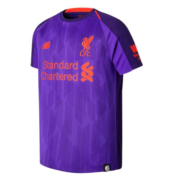 Camiseta Del Liverpool 3a Equipación 18/19 JUNIOR