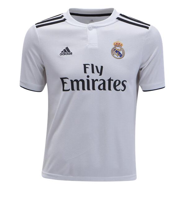 Camiseta Del Real Madrid 1ª Equipación 18/19 JUNIOR