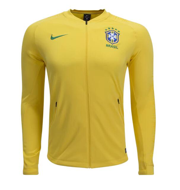 CAMISETA BRASIL 2018 Anthem Jacket