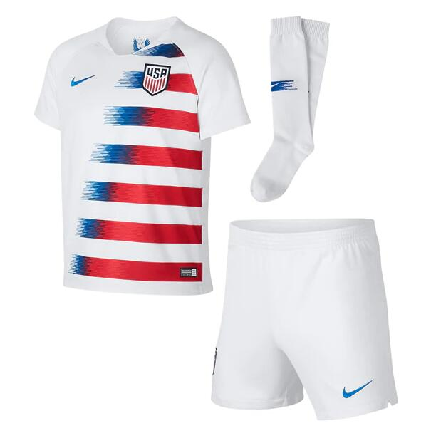 CAMISETA USA 2018 Little Boy's PRIMERA EQUIPACIÓN Kit