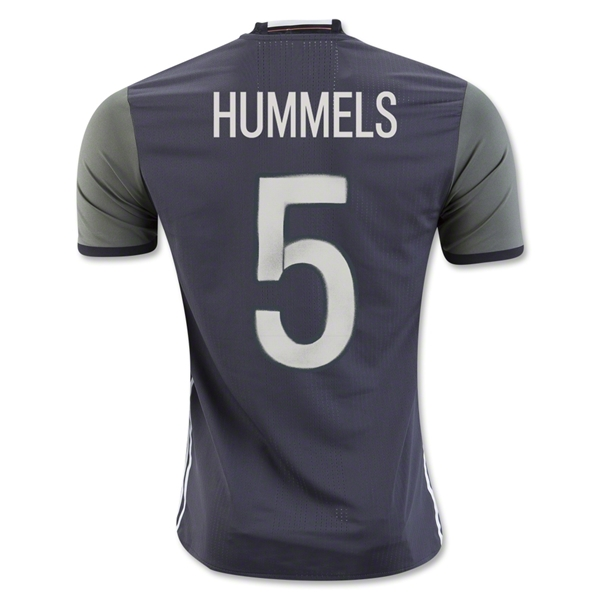CAMISETA ALEMANIA 2016 HUMMELS Authentic SEGUNDA EQUIPACIÓN