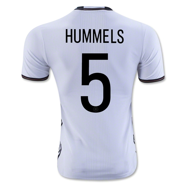 CAMISETA ALEMANIA 2016 HUMMELS Authentic PRIMERA EQUIPACIÓN