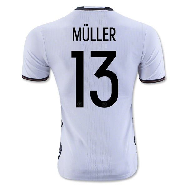 CAMISETA ALEMANIA 2016 MULLER Authentic PRIMERA EQUIPACIÓN