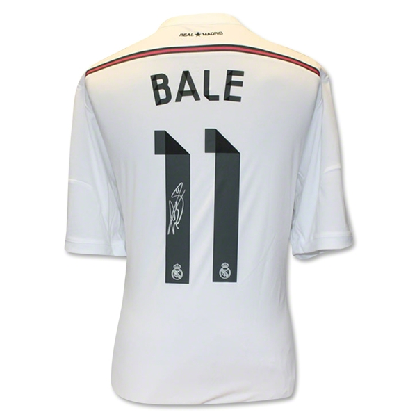 CAMISETA Icons Gareth Bale Real Madrid PRIMERA EQUIPACIÓN 14/15 Back Signed