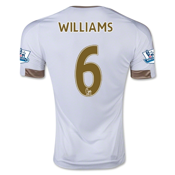 CAMISETA Swansea City 15/16 WILLIAMS PRIMERA EQUIPACIÓN