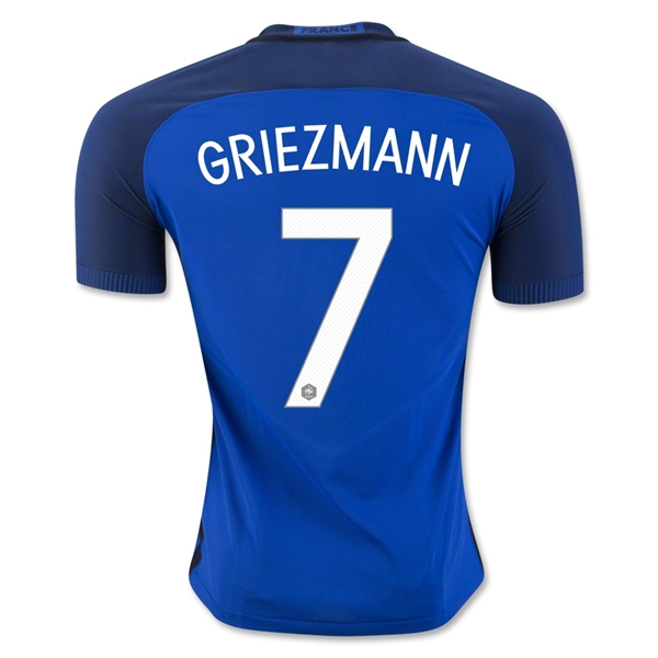 CAMISETA France 2016 GRIEZMANN Authentic PRIMERA EQUIPACIÓN