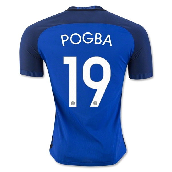 CAMISETA France 2016 POGBA Authentic PRIMERA EQUIPACIÓN