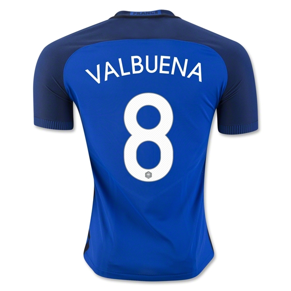 CAMISETA France 2016 VALBUENA Authentic PRIMERA EQUIPACIÓN