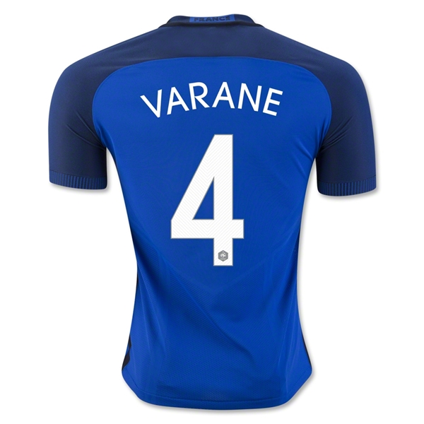 CAMISETA France 2016 VARANE Authentic PRIMERA EQUIPACIÓN