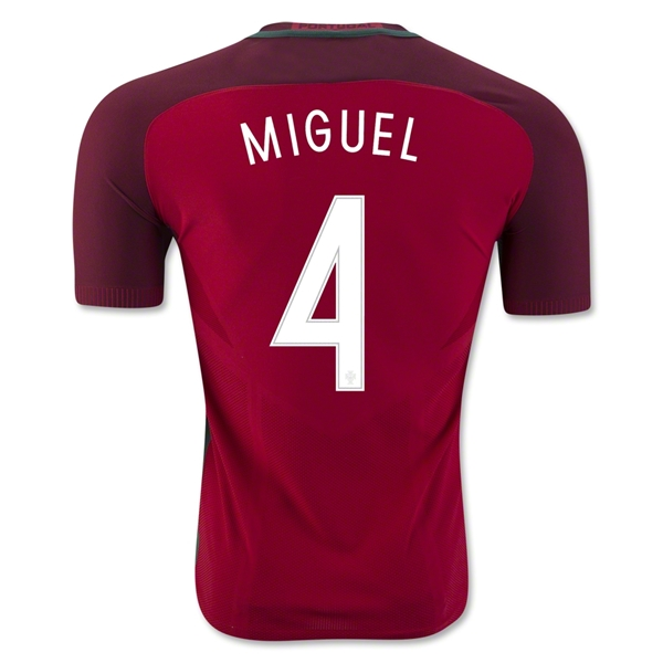 CAMISETA Portugal 2016 MIGUEL Authentic PRIMERA EQUIPACIÓN