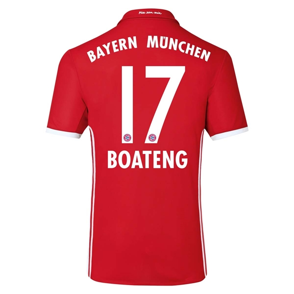 CAMISETA Bayern Munich 16/17 BOATENG Authentic PRIMERA EQUIPACIÓN