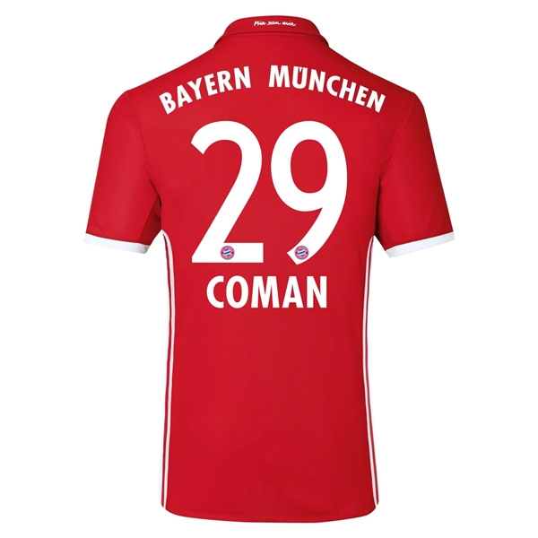 CAMISETA Bayern Munich 16/17 COMAN Authentic PRIMERA EQUIPACIÓN
