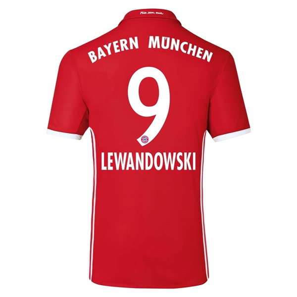 CAMISETA Bayern Munich 16/17 LEWANDOWSKI Authentic PRIMERA EQUIPACIÓN