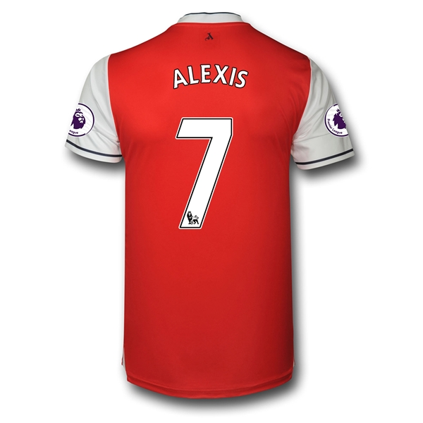 CAMISETA Arsenal 16/17 7 ALEXIS Authentic PRIMERA EQUIPACIÓN