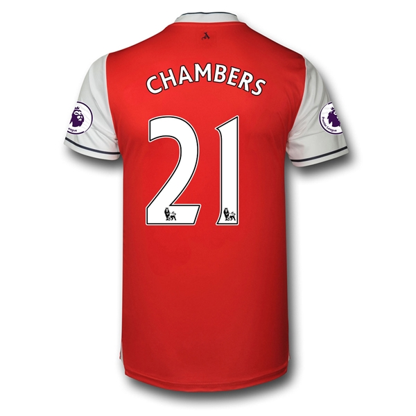 CAMISETA Arsenal 16/17 21 CHAMBERS Authentic PRIMERA EQUIPACIÓN