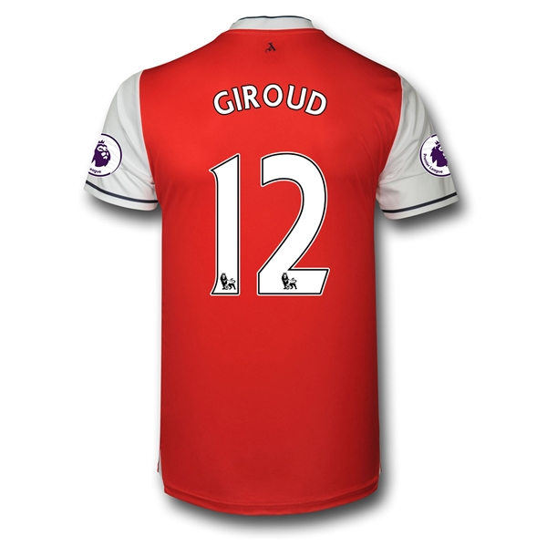 CAMISETA Arsenal 16/17 12 GIROUD Authentic PRIMERA EQUIPACIÓN