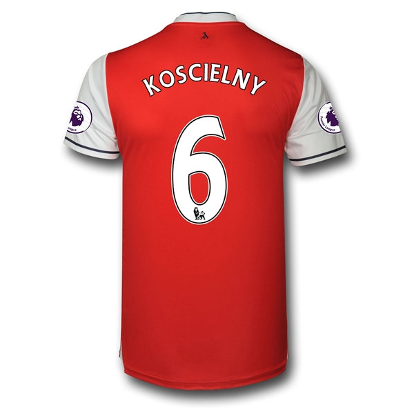 CAMISETA Arsenal 16/17 6 KOSCIELNY Authentic PRIMERA EQUIPACIÓN