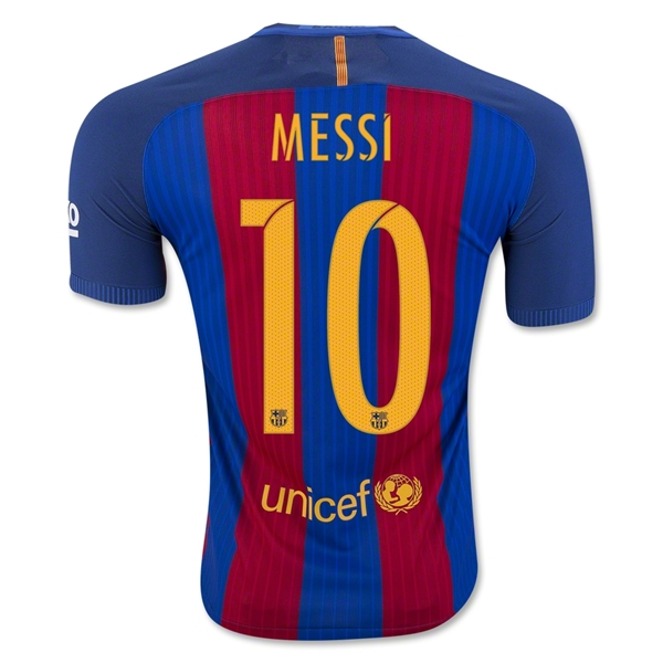 CAMISETA Barcelona 16/17 MESSI Authentic PRIMERA EQUIPACIÓN