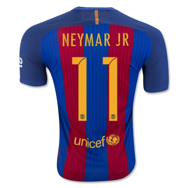 CAMISETA Barcelona 16/17 NEYMAR JR Authentic PRIMERA EQUIPACIÓN