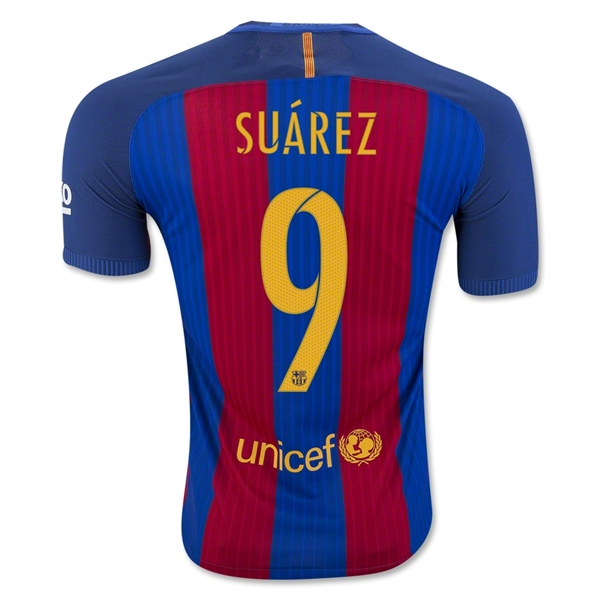CAMISETA Barcelona 16/17 SUAREZ Authentic PRIMERA EQUIPACIÓN