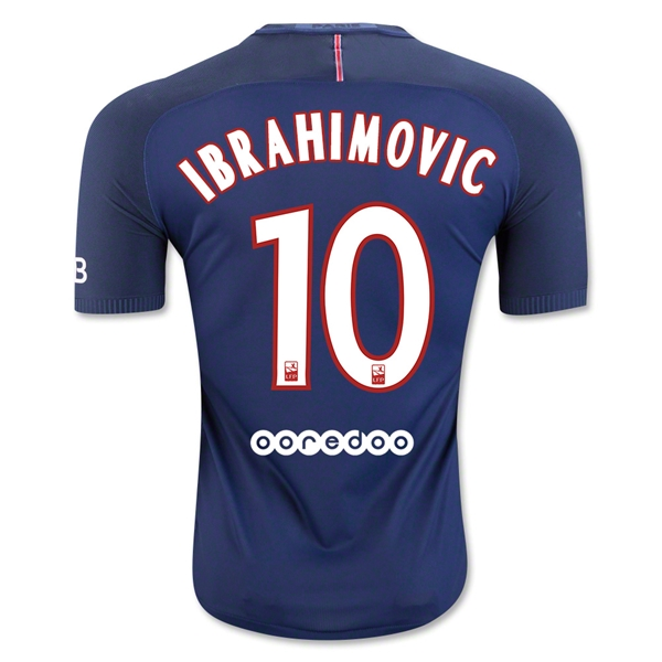 CAMISETA Paris Saint-Germain 16/17 IBRAHIMOVIC Authentic PRIMERA EQUIPACIÓN
